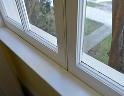 How to repair a drafty hinged window
