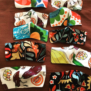 masks made by my pal danielle