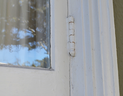 How to replace hinges on a window repair