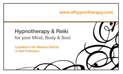 Hypnotherapist + Reiki Master
