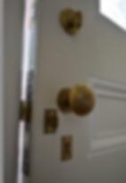 wooden door repair vs. replacement