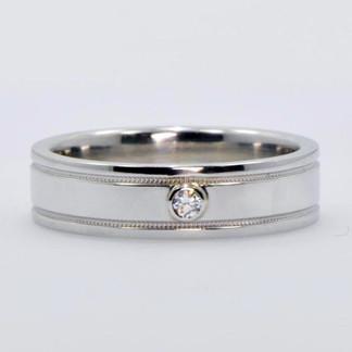 Men's Platinum Diamond Ring