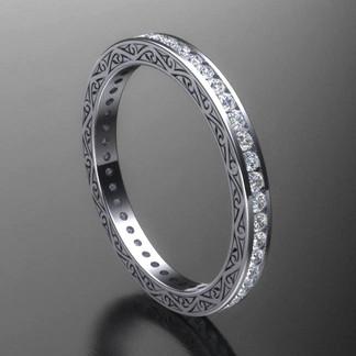 Eternity Style Diamond Wedding Ring