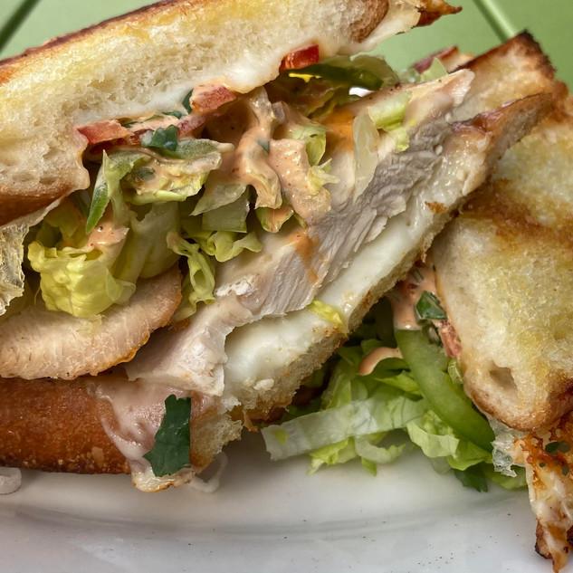 Gourmet Takeout Chicken Sandwich