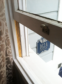 How to repair a drafty old Victorian window