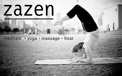 Postcard for Yoga Studio and Spa