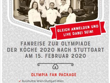Fanreise zur Olympiade der Köche 2020