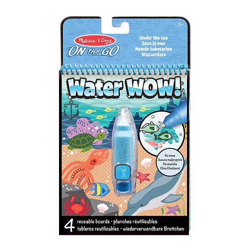 Water wow sous la mer