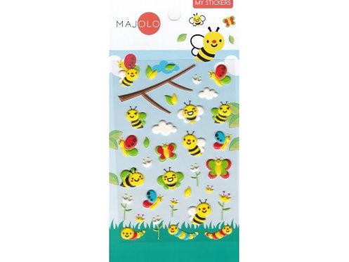 Stickers abeilles