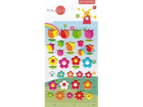 Stickers tulipes