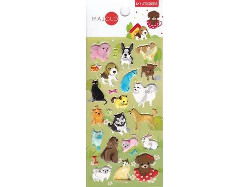Stickers animaux de compagnie