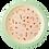 Thumbnail: Assiette enfant en mélamine rose, you go girl