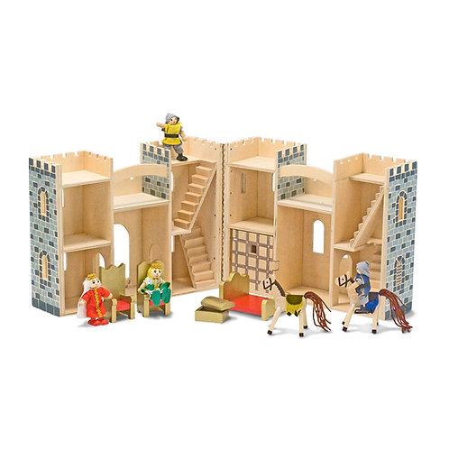 château en bois pliant