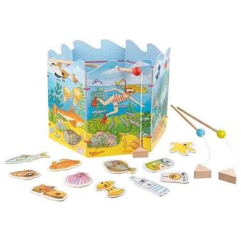 Le jeu de pêche pour préserver l'environnement