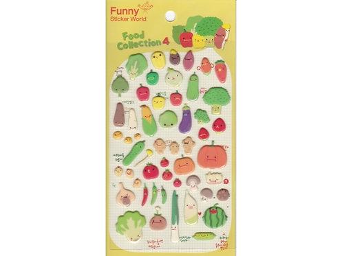 Stickers fruits et légumes