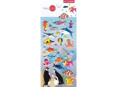 Stickers animaux marins