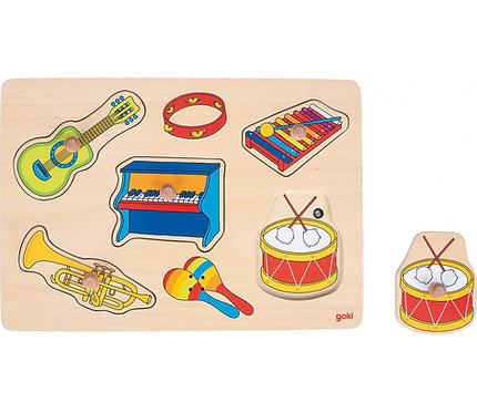 Puzzle sonore instruments de musique