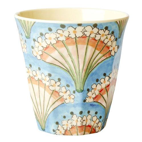 "Goblelet en mélamine medium ""flower fan"""