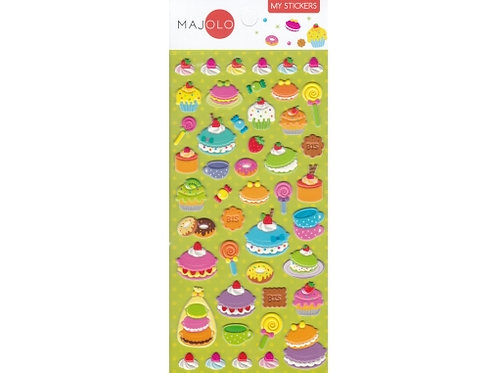 Stickers macarons