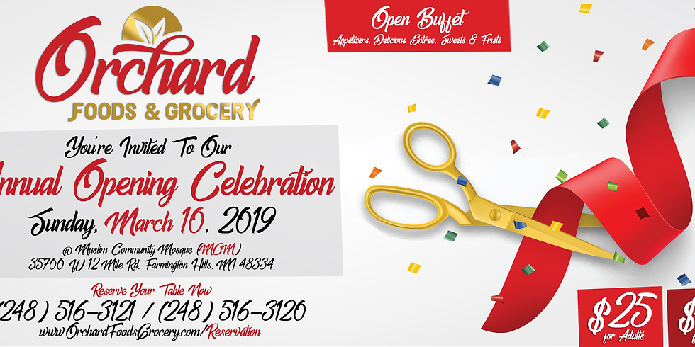 Orcahrd's Annual Party