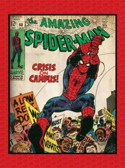Marvel Spider-Man Panel