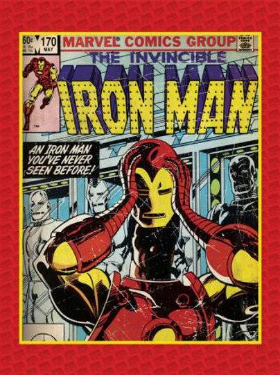Marvel Invincible Iron Man Panel