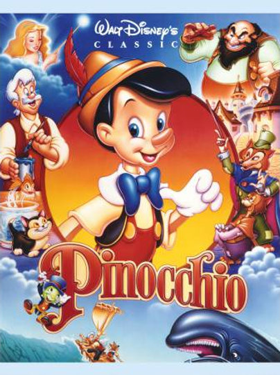 Pinocchio - cot panel