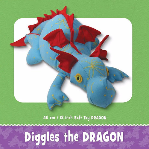 Diggles the Dragon
