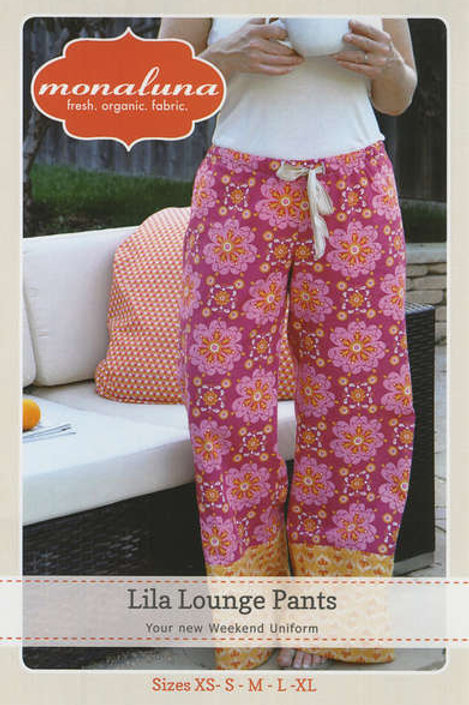 Lila Lounge Pants Pattern