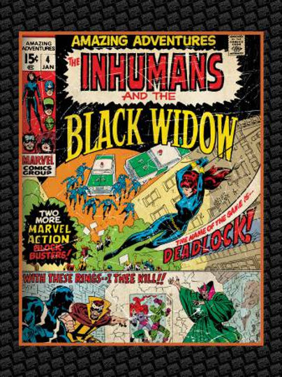 Marvel Black Widow Panel