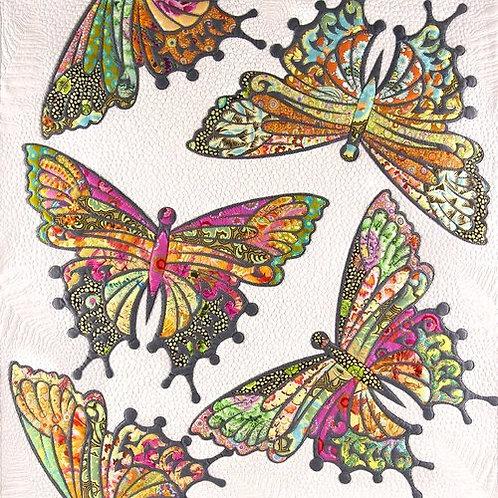 Modern Butterfly - applique pattern