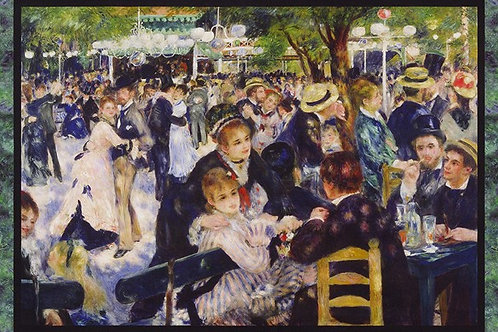 Renoir panel- Ball at Le moulin de la Galette