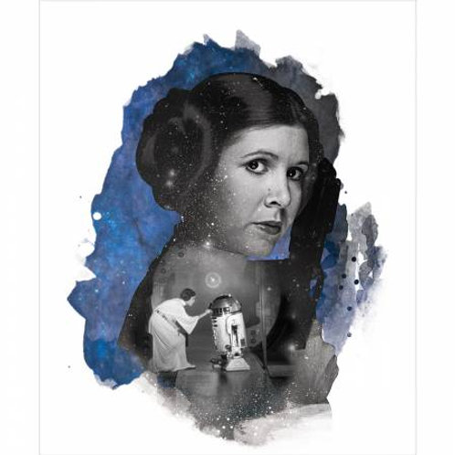 Star Wars Princess Leia Panel