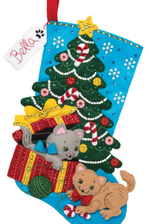 Bucilla Felt Stocking Kit - The Perfect Gift