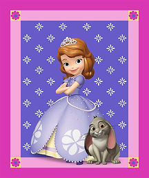 Princess Sofia Fabric