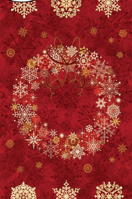 Christmas Wreath - Red