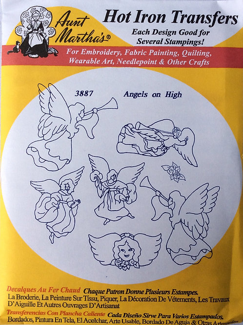 Angels On High 3887 Hot Iron Transfers