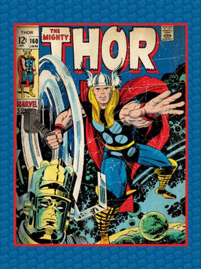Marvel The Mighty Thor Panel