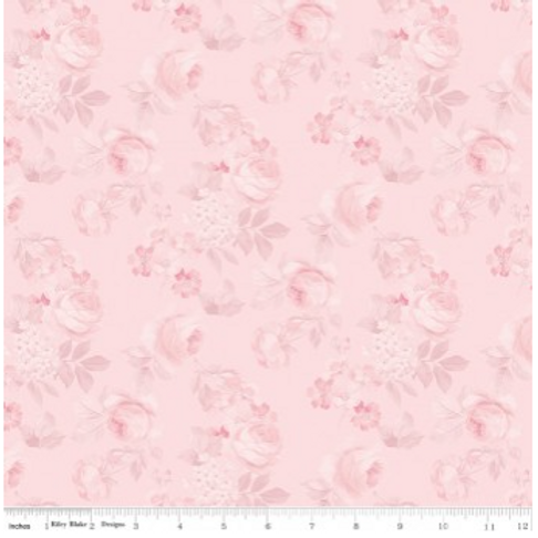 Rose & Violet's Garden Faded Roses - BLUSH