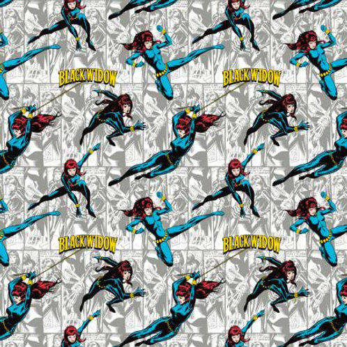 Marvel Black Widow Fabric