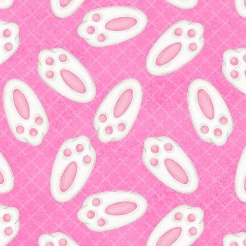 Bunny Feet on Pink