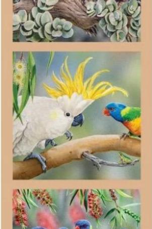 WILDLIFE ART - Parrots