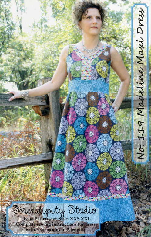 ed8951c56385 Madeline Maxi Dress is easy to wear semi-fitted dress. The pattern includes  two dress lengths and 5 variations so you can make the dress uniquely you  own.