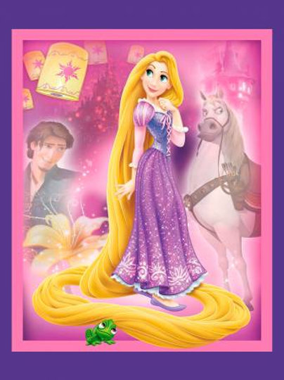 Disney Rapunzel & Friends Panel