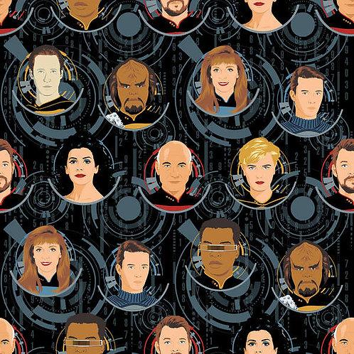 Star Trek Badges Black