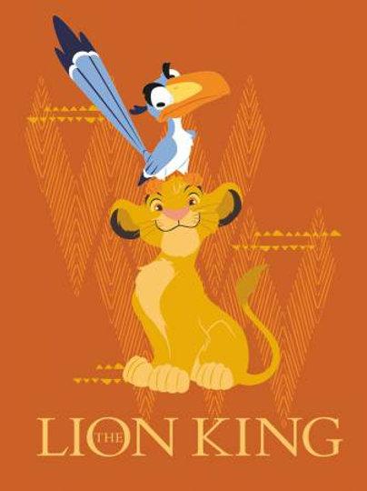 Lion King - cot panel