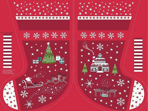 Lewis & Irene Christmas Stocking