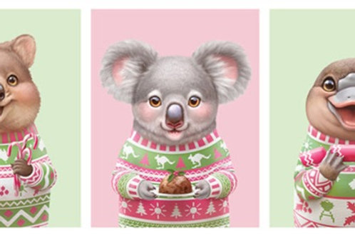 Aussie Friends - Quokka, Koala, Platypus