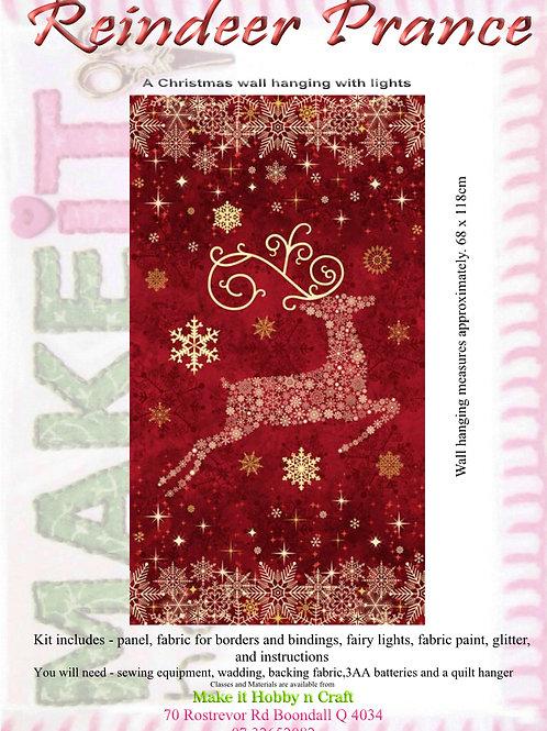 Reindeer Prance - Red