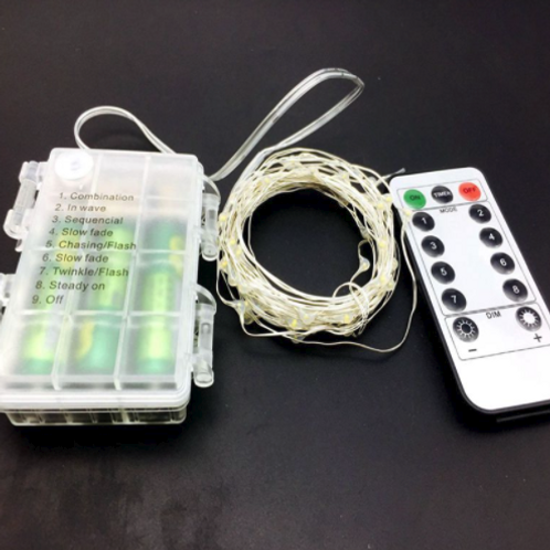 Battery Operated Fairy Lights with Remote Control